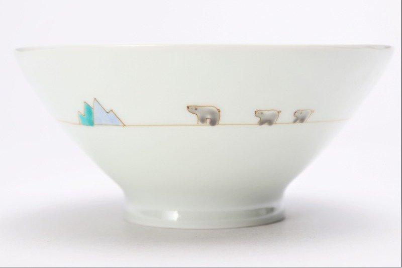 一峰窯 北極 茶碗(大) 画像サブ4