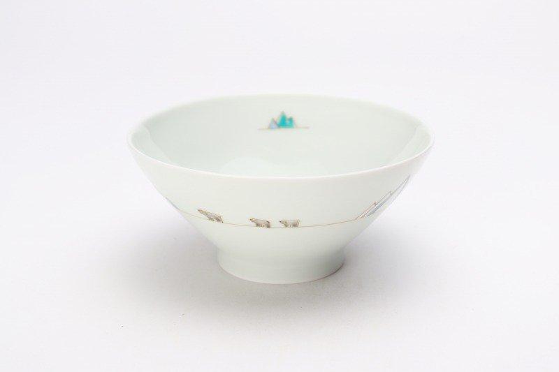 一峰窯 北極 茶碗(小) 画像メイン