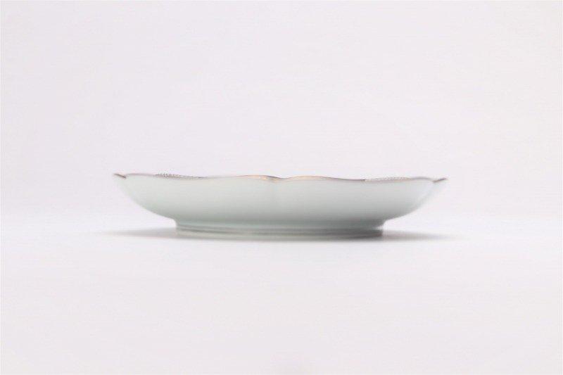 徳幸窯 黒地銀彩菊華紋紅茶碗 画像サブ6