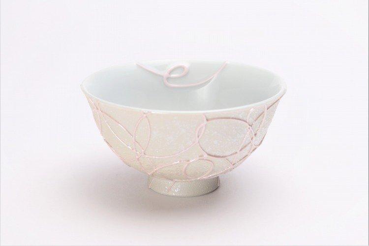 楽々シリーズ ブルー・ピンク一珍ペア茶碗 (化粧箱入り) 画像サブ7