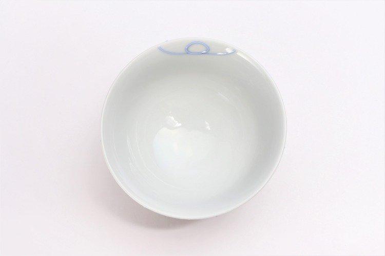 楽々シリーズ ブルー一珍 茶碗 (化粧箱入り) 画像サブ3