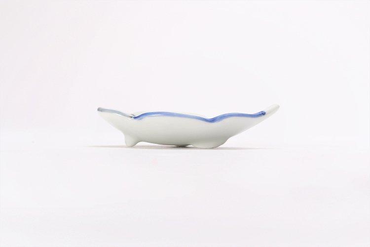 伝平窯 染濃雷雲 雲型豆小皿 画像サブ1