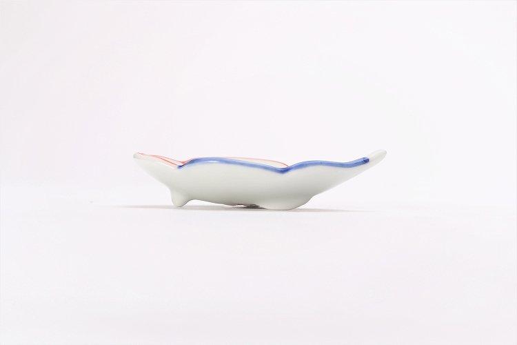 伝平窯 染朱雷雲 雲型豆小皿 画像サブ1