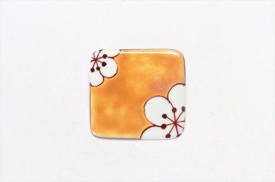 楽々シリーズ 黄梅 ブローチ(大)