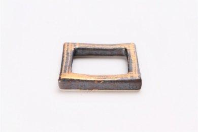 陶悦窯 晶金かすり 市松箸置き