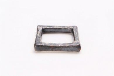 陶悦窯 晶銀かすり 市松箸置き