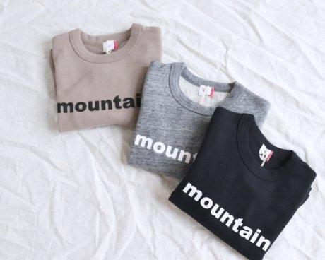 FOV mountain ロゴスウェットシャツ