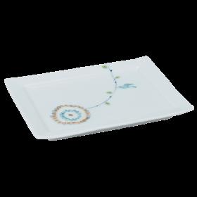 長角皿(小)|フラワーバード
