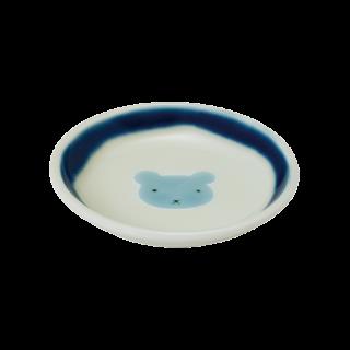 小皿くま(青)|虹の国