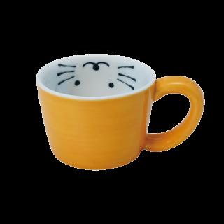 ミニマグカップねこ(黄)|おはなし
