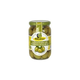 マサリコ グリーン・オリーブ・ホール<br>Macarico Whole Green Olives