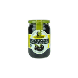 マサリコ ブラック・オリーブ・ホール<br>Macarico Whole Black Olives