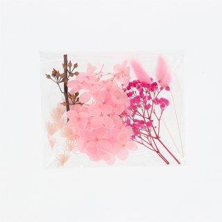 200ml ボトル用花材セット ピンク