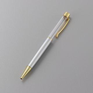 ハーバリウムボールペン本体・シルバー(5本入り)