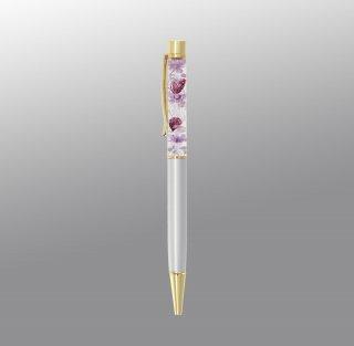 ハーバリウムボールペン完成品・シルバー(UVレジンタイプ)