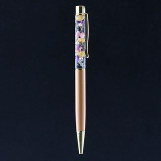 ハーバリウムボールペン限定品・カッパー(UVレジンタイプ)