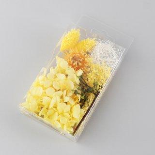 ハーバリウム用花材セットミニパック イエロー
