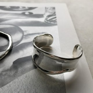 silver925 melty bangle