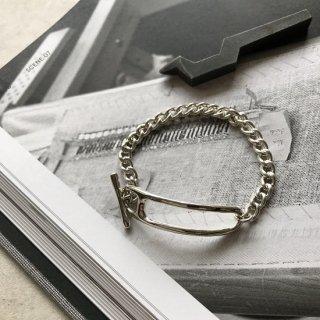 silver925 pin bracelet silver/gold