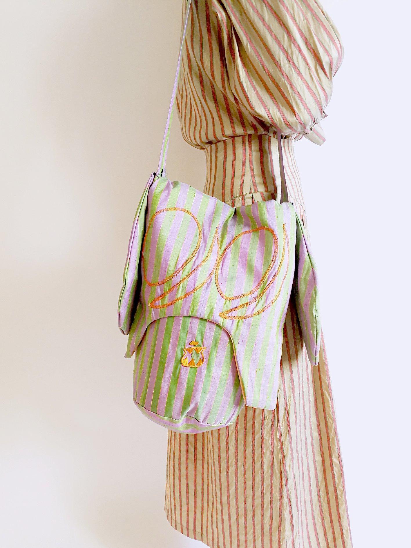 Skoloct Bag / green× lilac