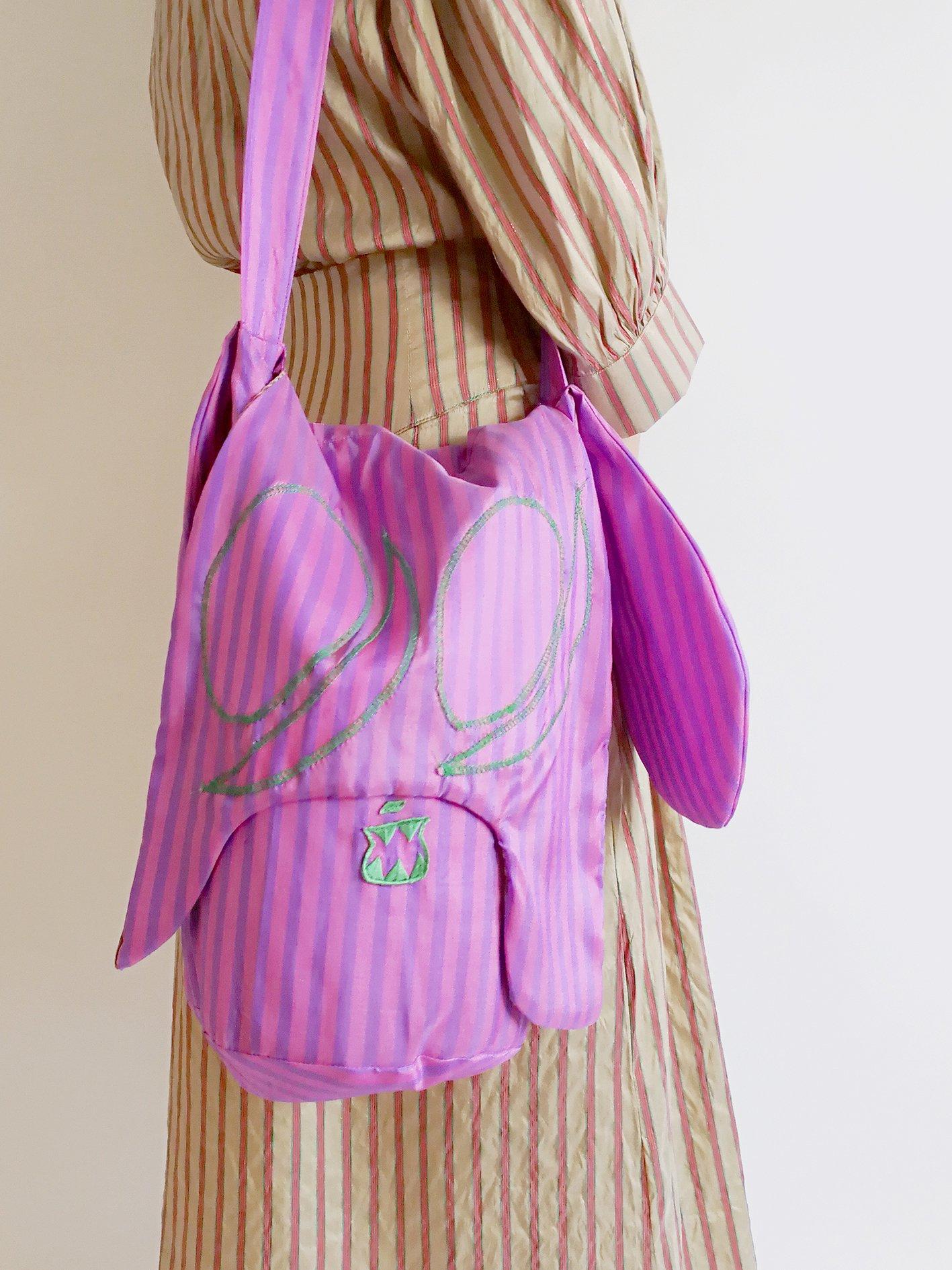 Skoloct Bag / pink × purple