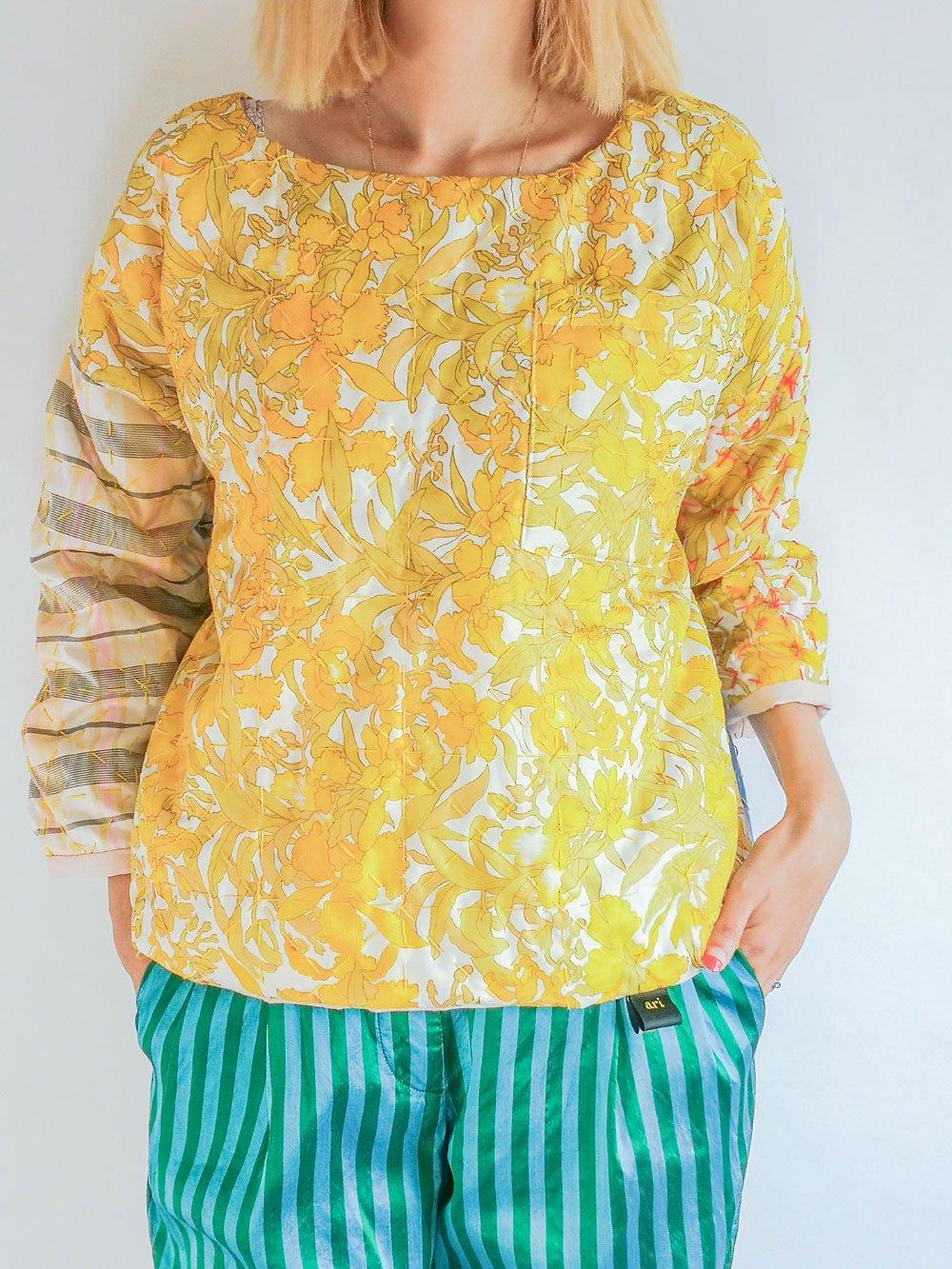ari×mamarobot / Kilted Pullover S