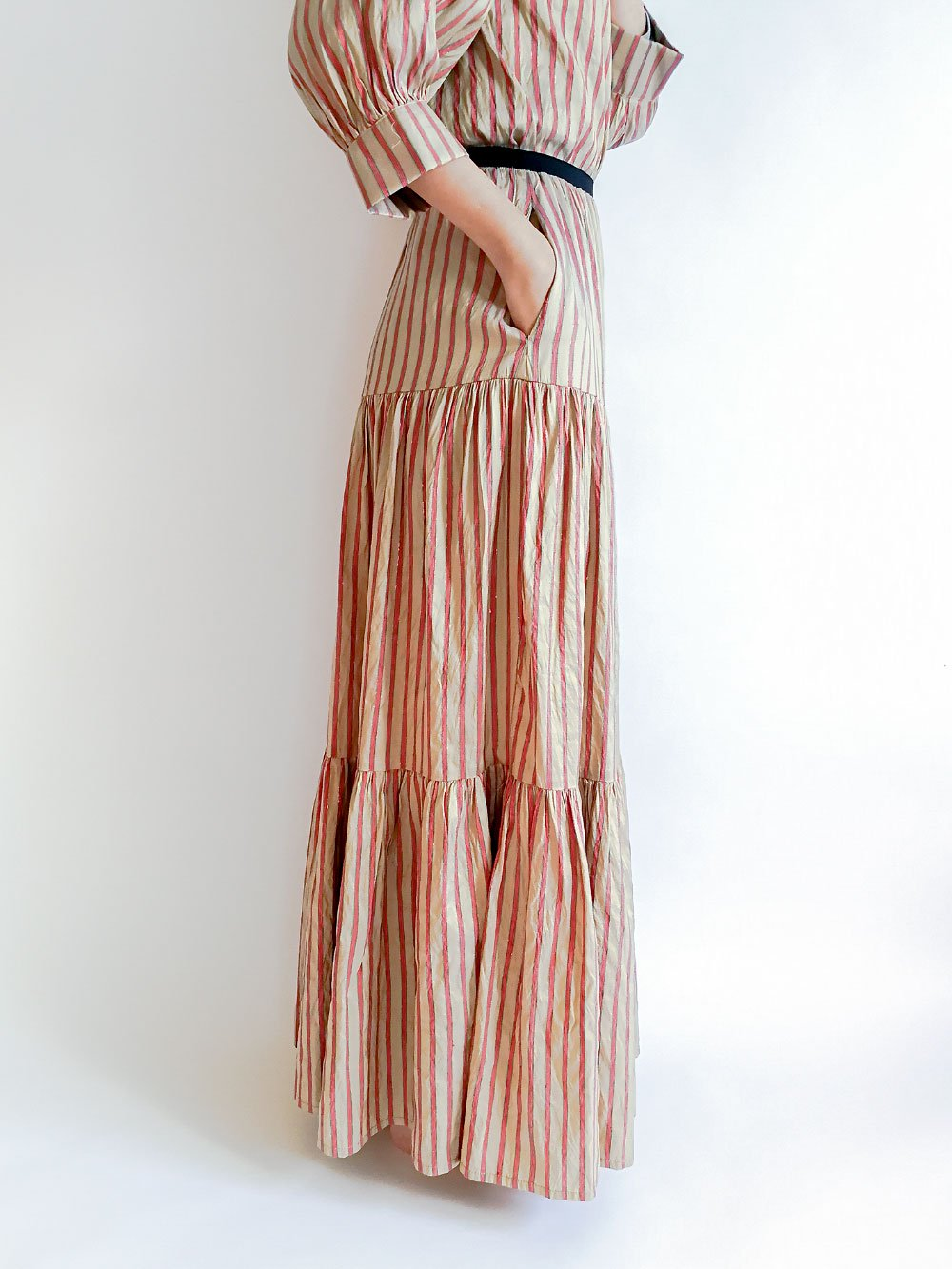 Tiered Skirt / original beige