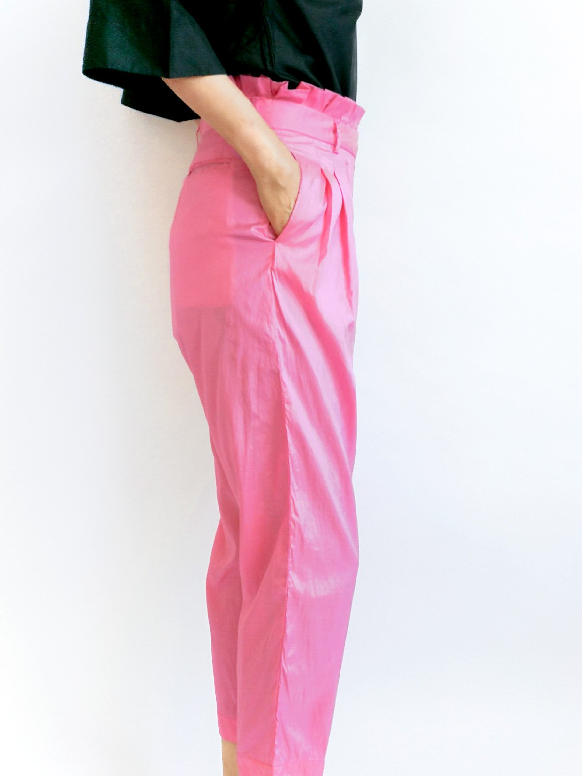 Tucked Pants / pink