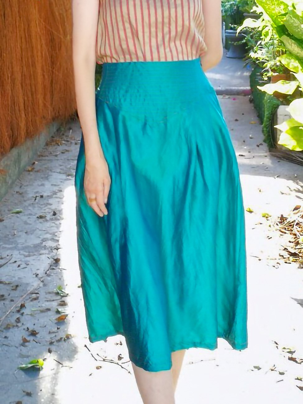 Midi Skirt / original blue サムネイル