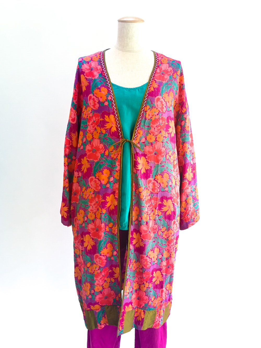 Patchwork Robe / flower mix