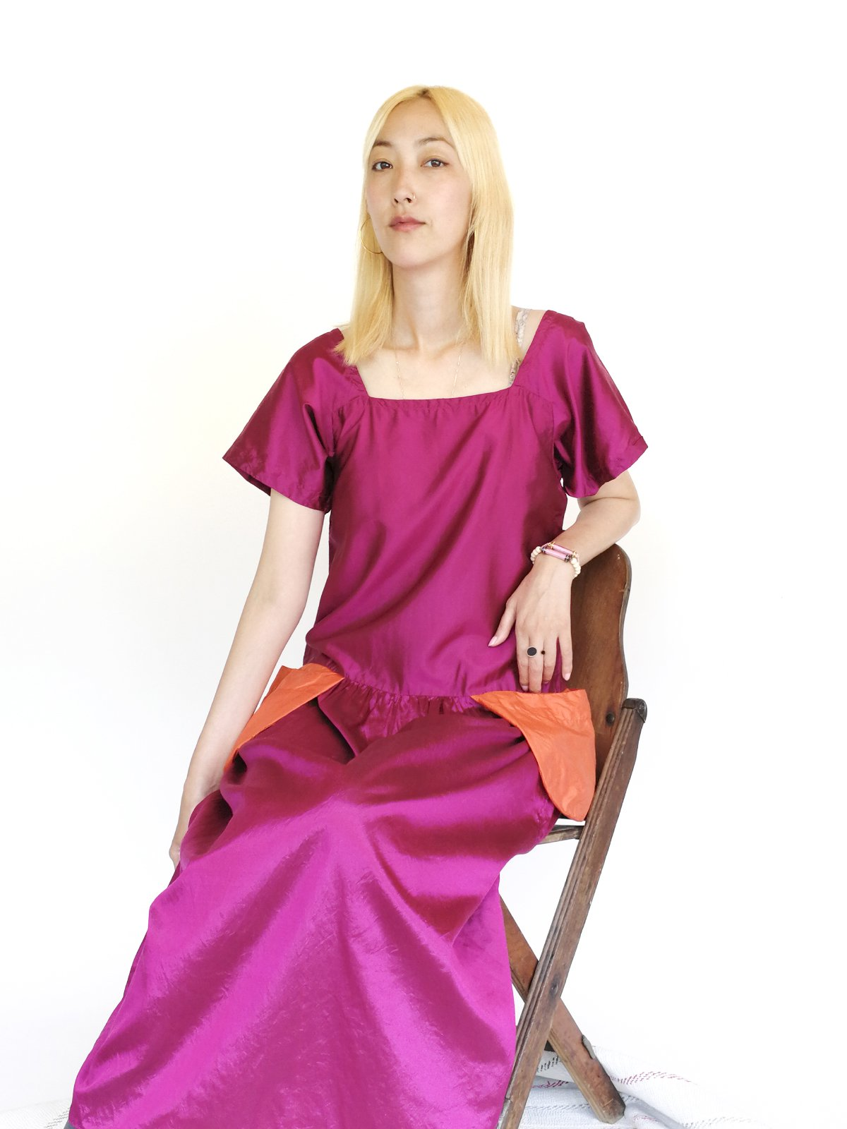Classic One Piece / magenta サムネイル