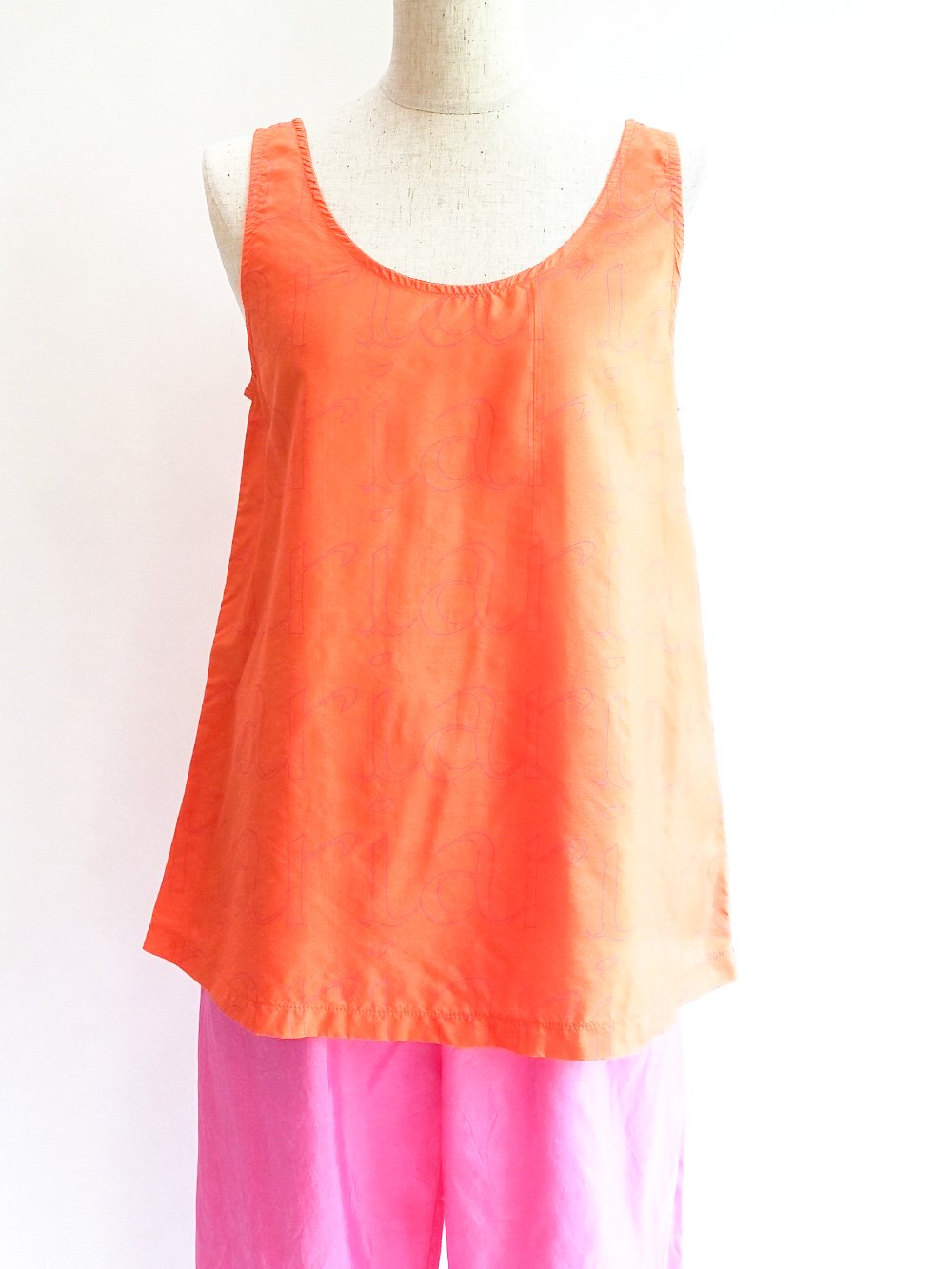 Tanktop / logo orange サムネイル