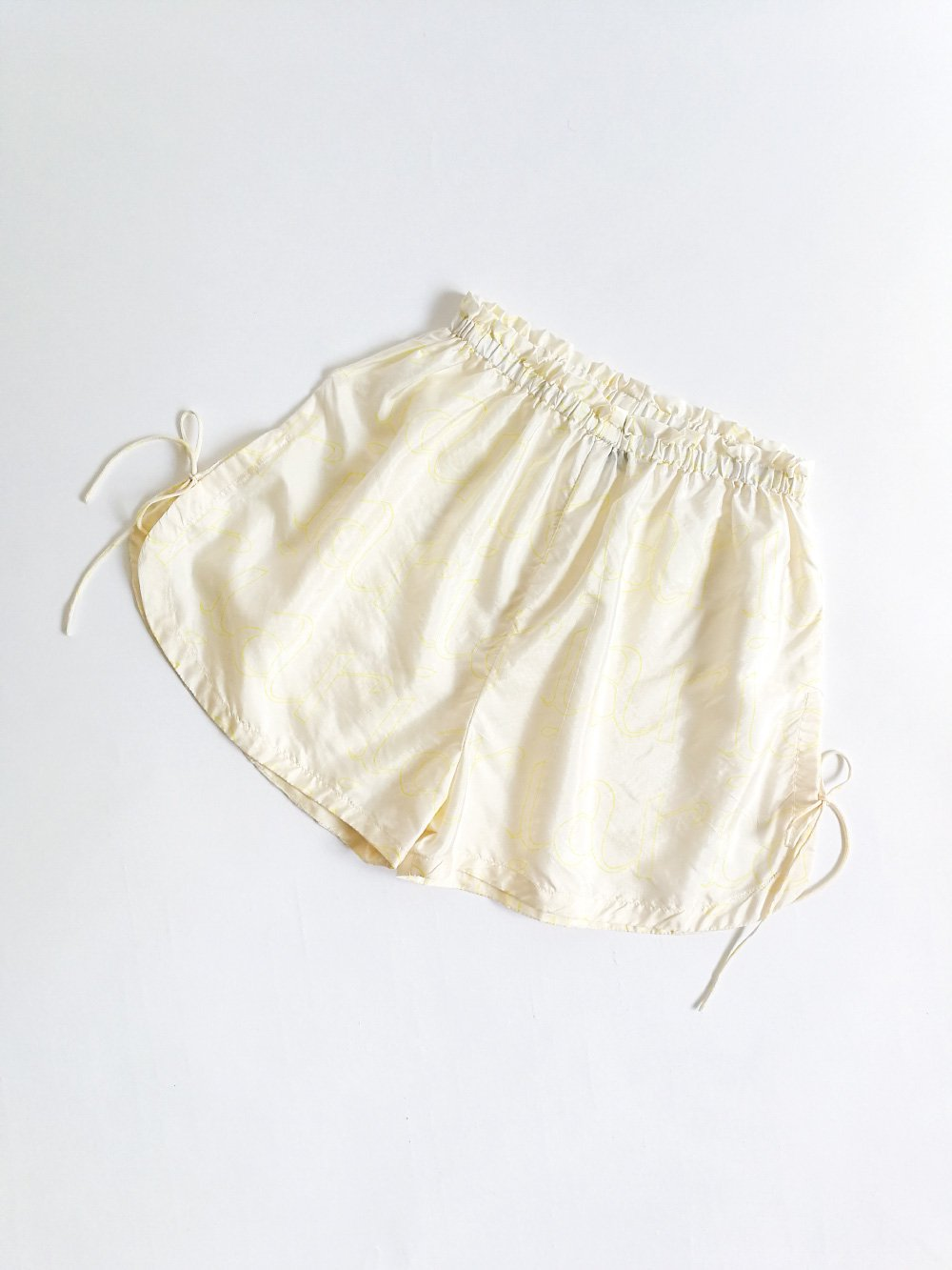 Shorts / logo white