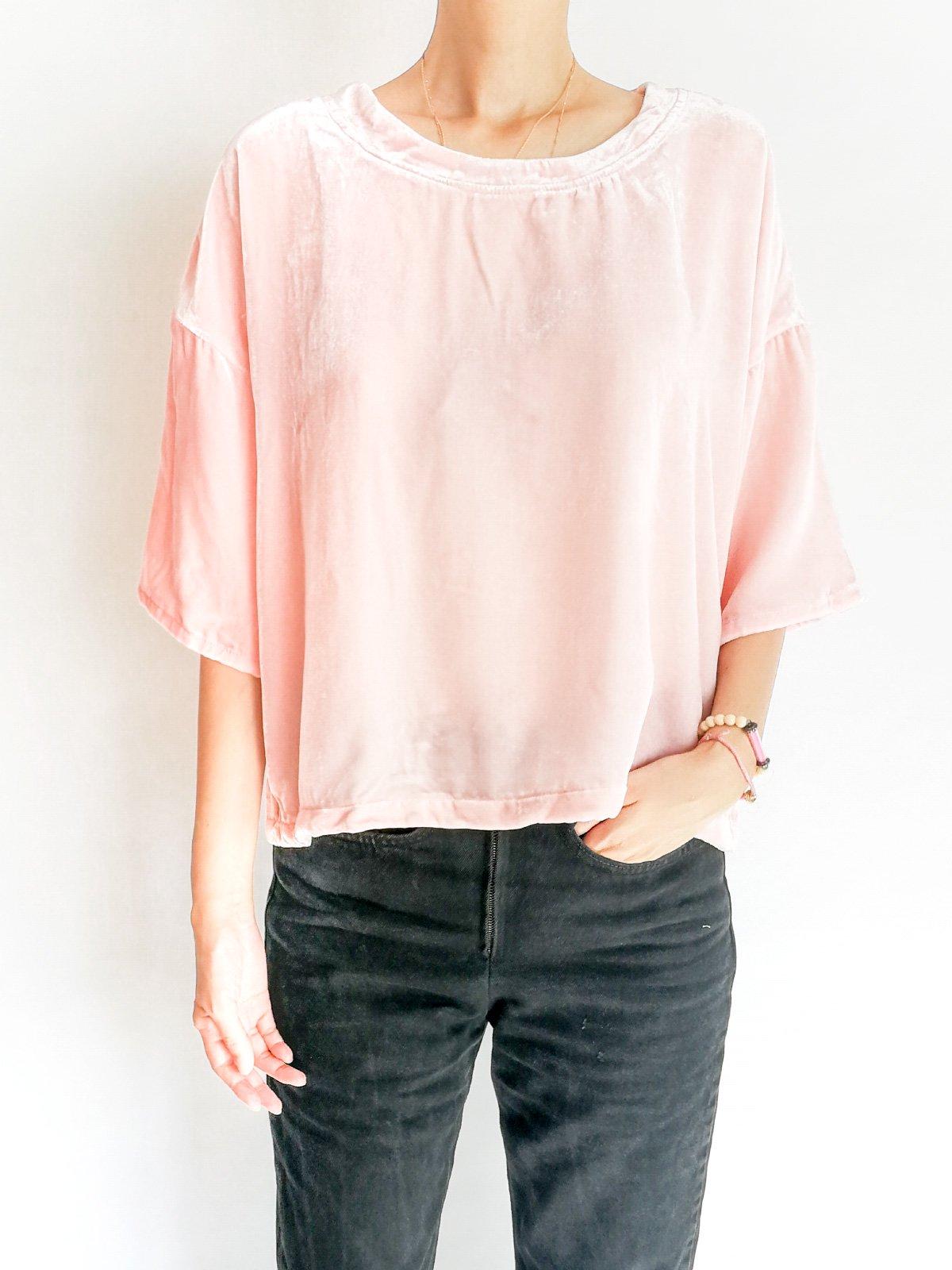 Big T-shirts / baby pink