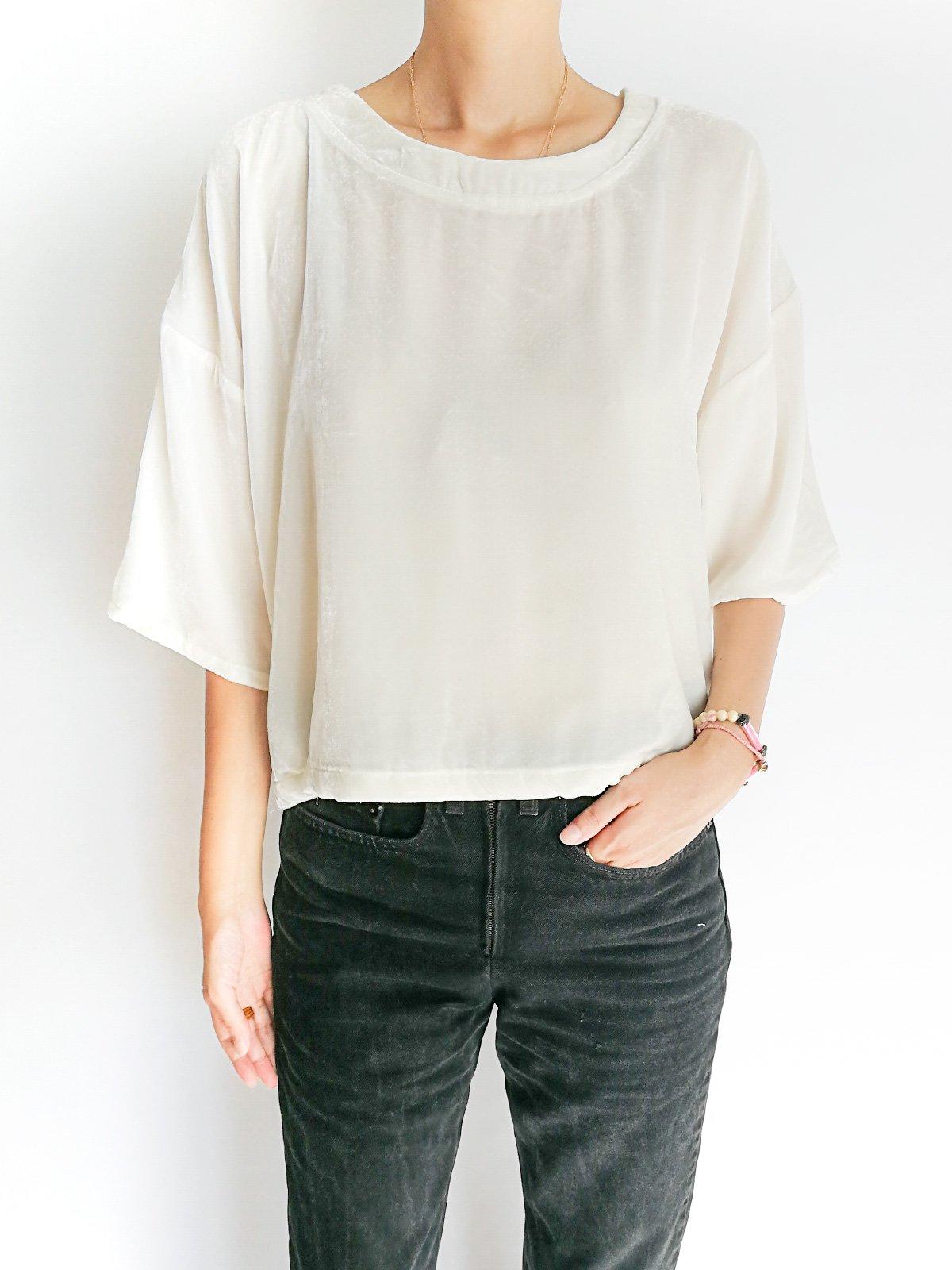 Big T-shirts / white