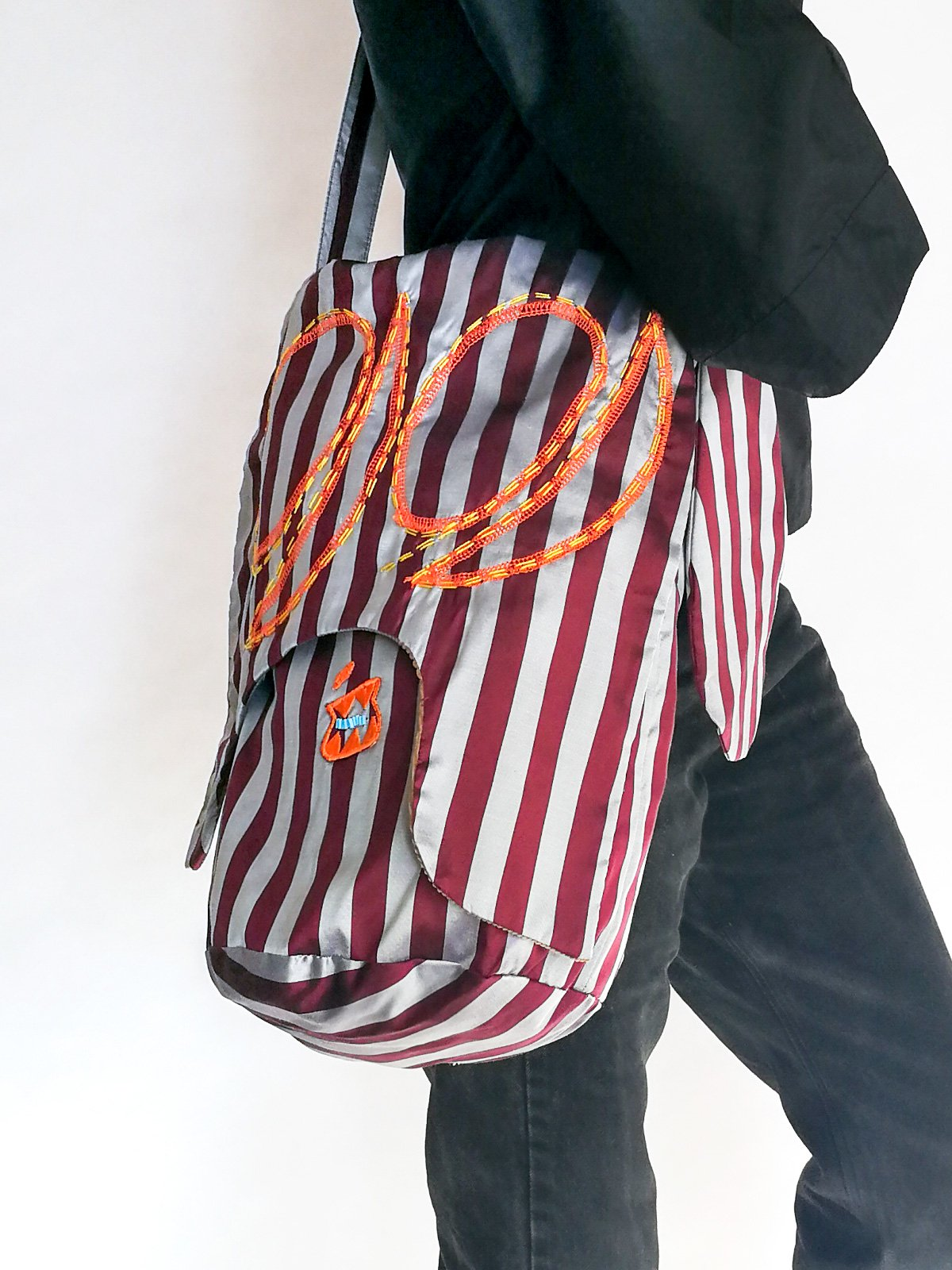 Skoloct Bag (hand stitch) / original bordeaux