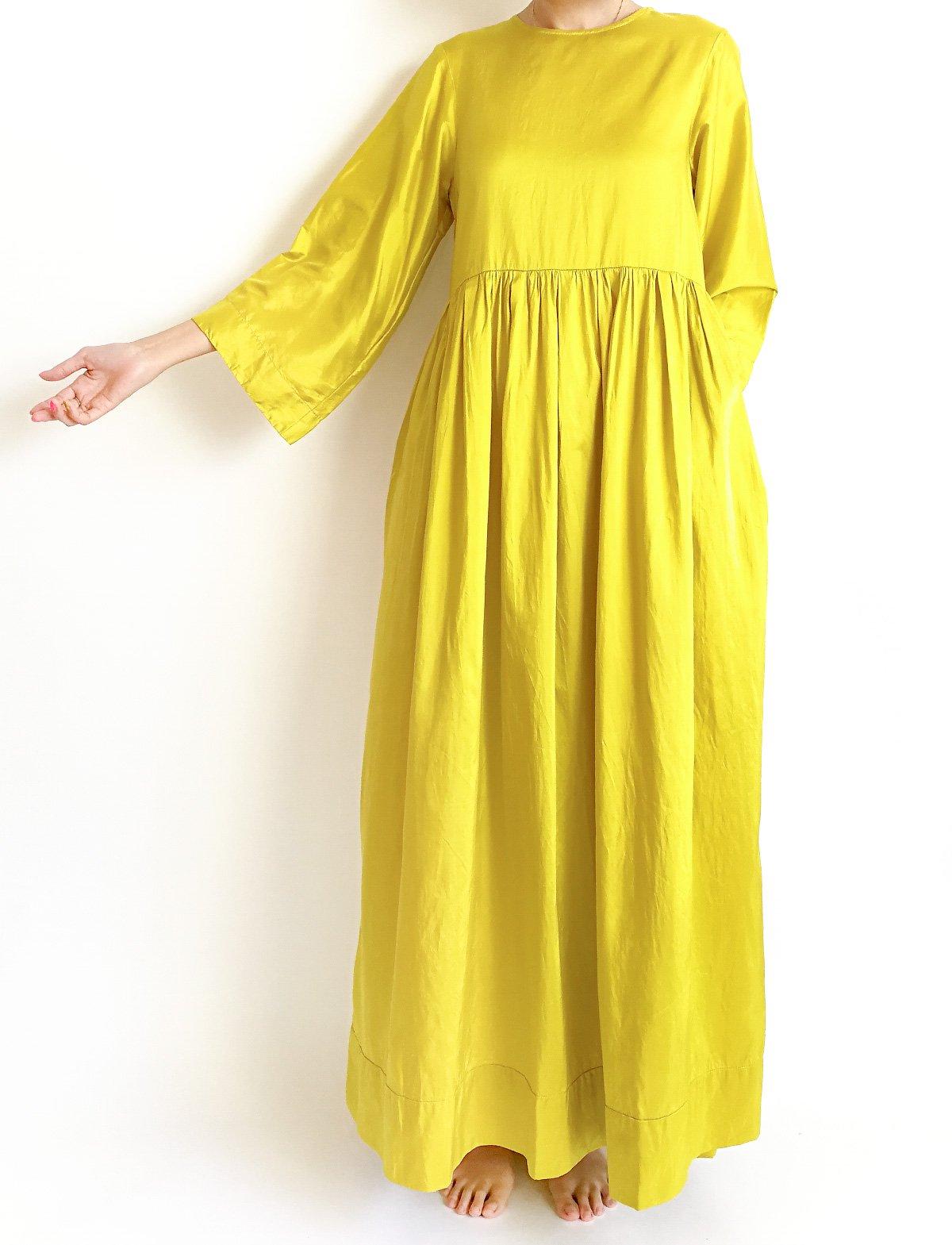 Maxi Dress / mustard