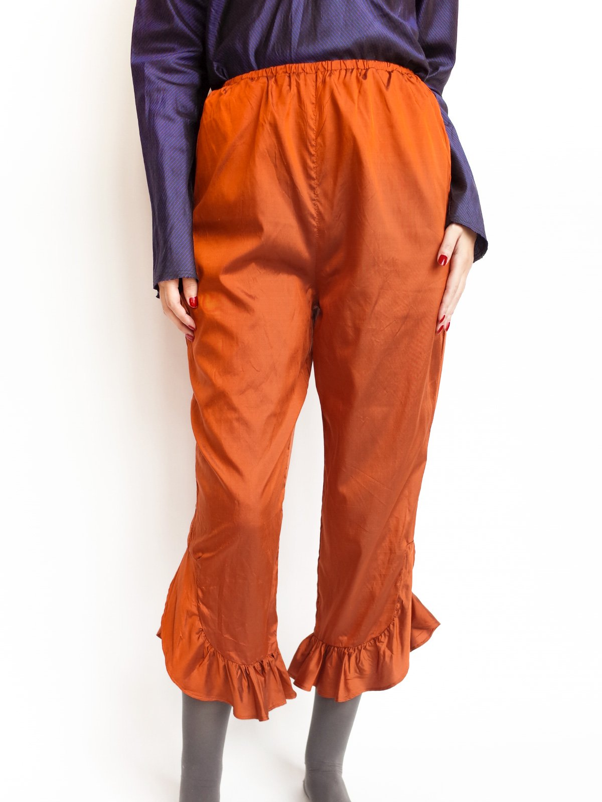 Fin Frill Pants / copper