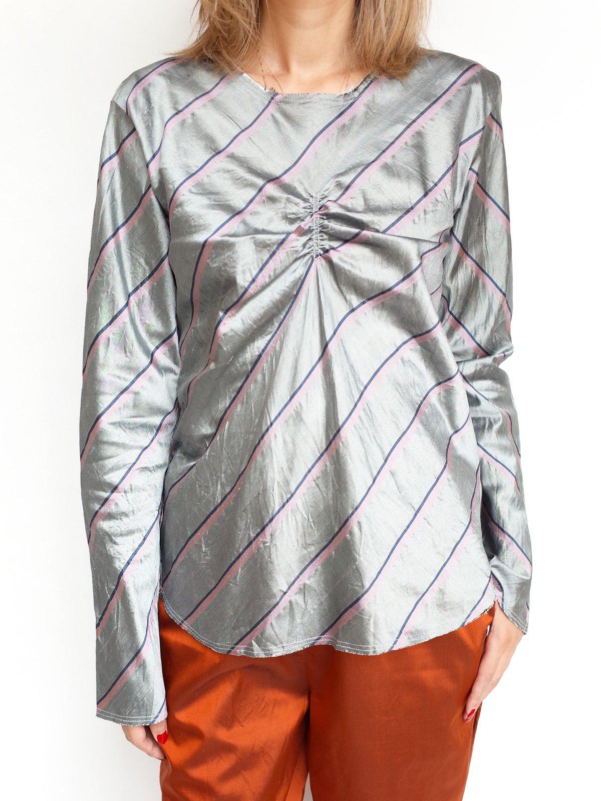 Bias Tops / gray stripe