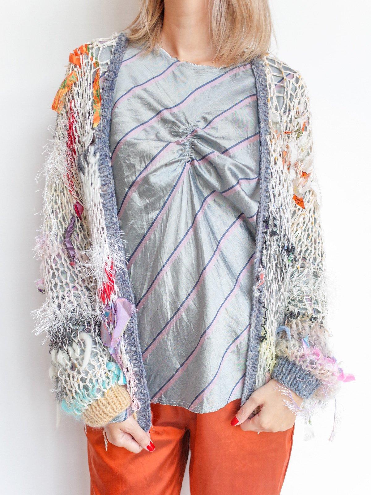 ari × mamarobot / Mohair Knit / M