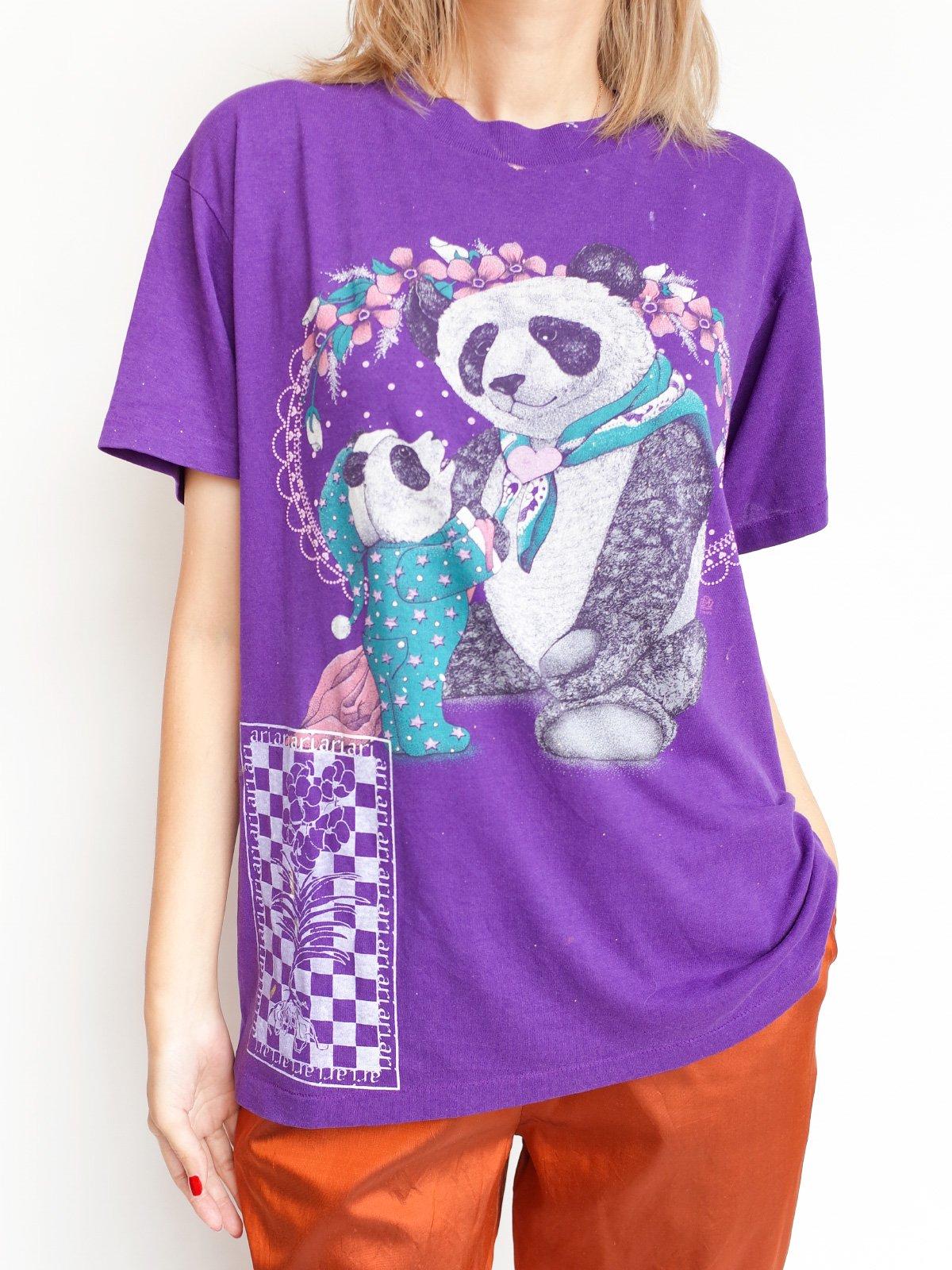 2nd Hand Print T / panda サムネイル