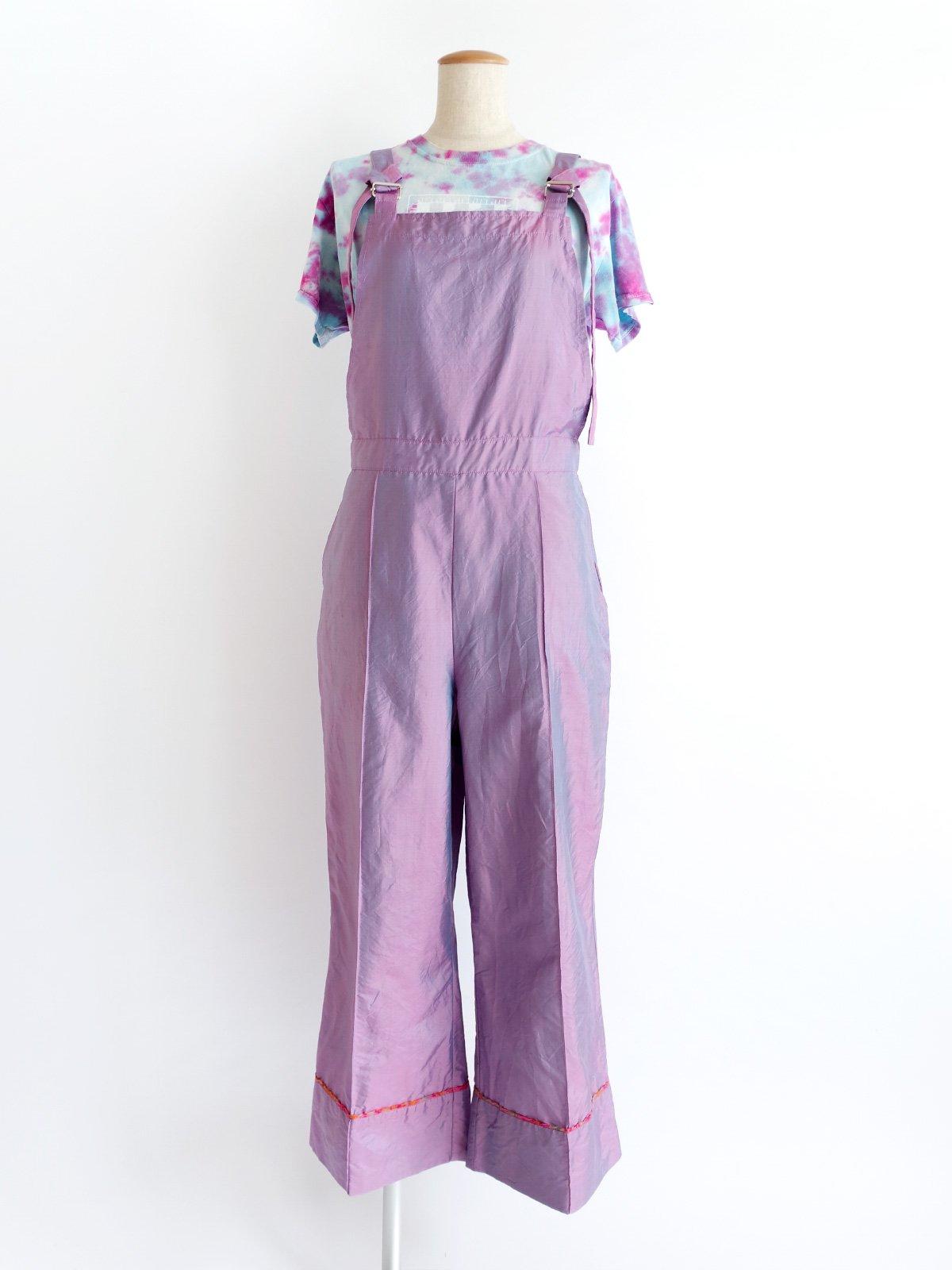 Salopette / pink blue