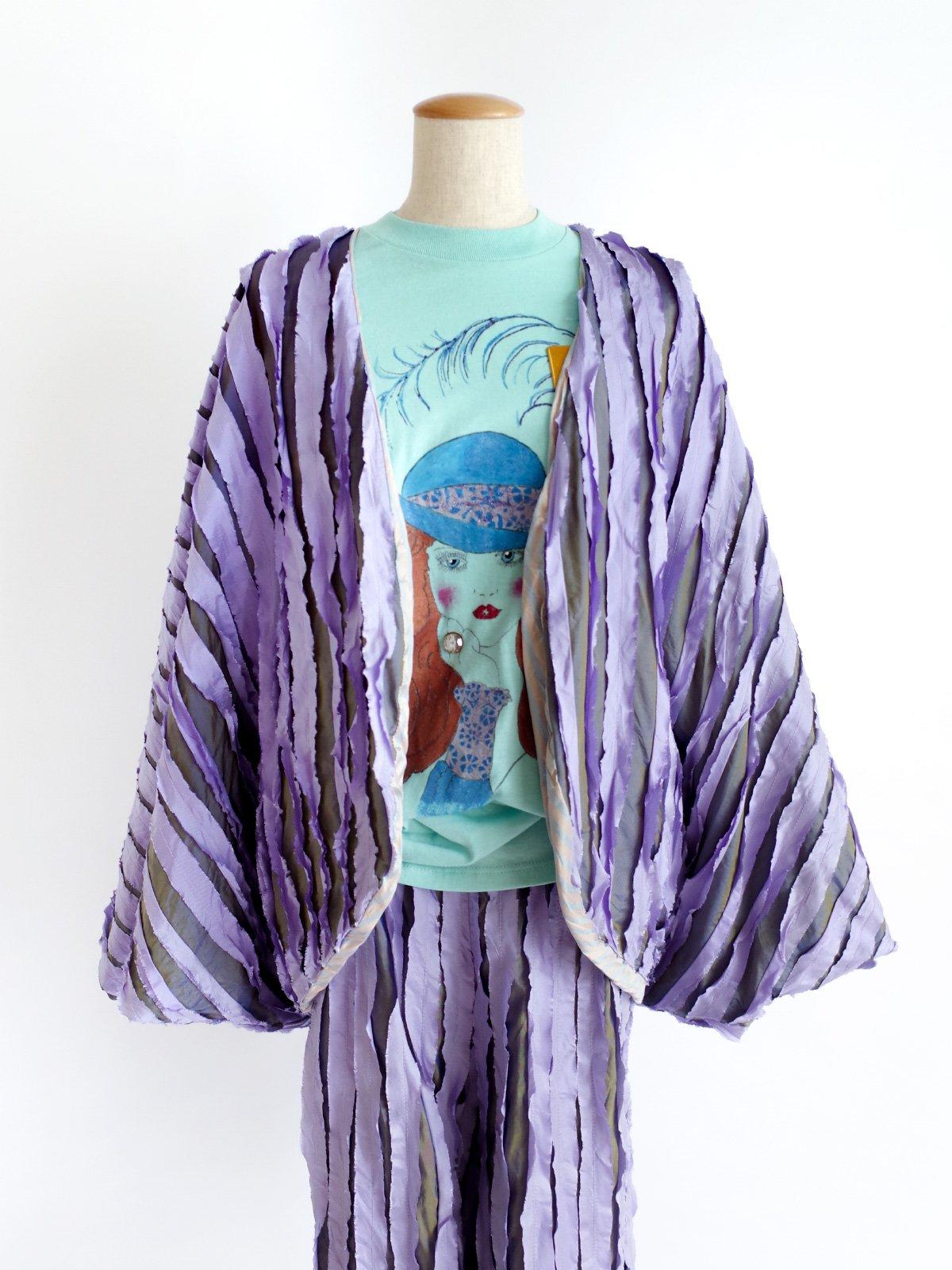 Ribbon Jacket / lavender mix サムネイル
