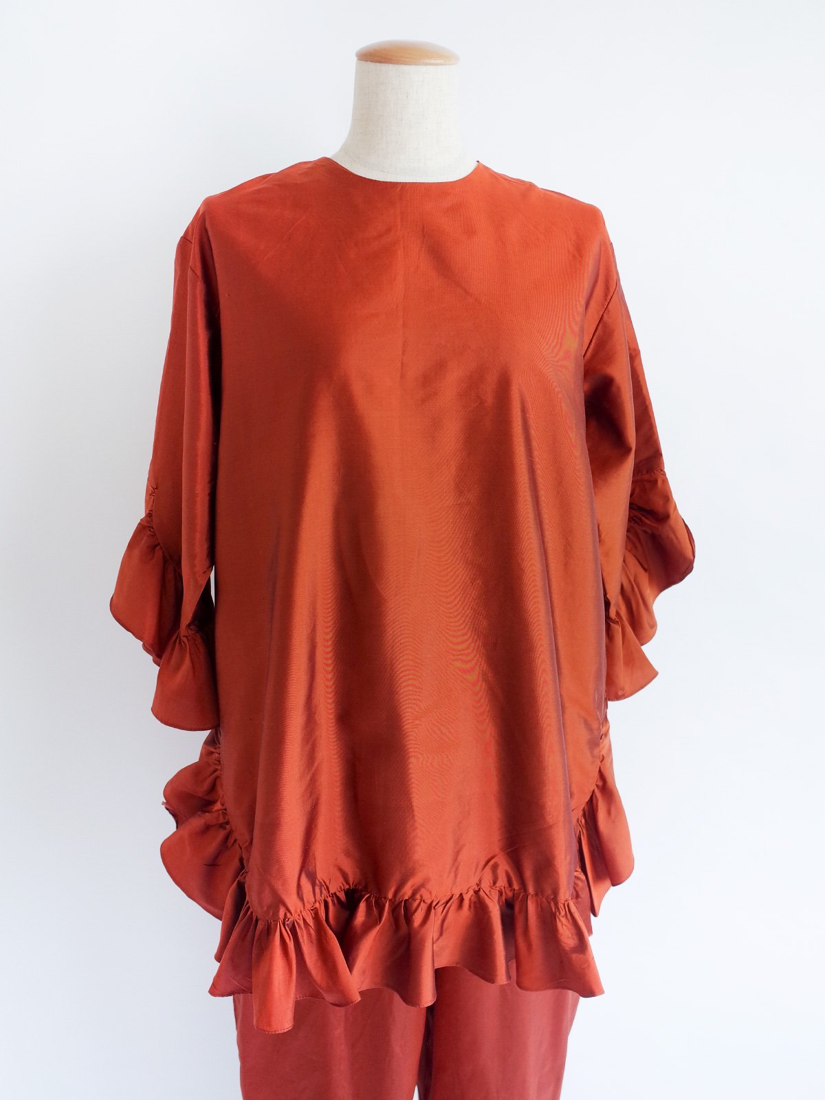 Fin Frill Tops / copper