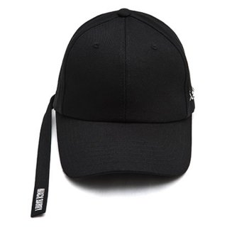 MACK BARRY MACK LONGSTRAP CURVE CAP BLACK
