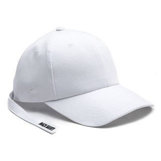MACK BARRY MACK MIDDLESTRAP CURVE CAP WHITE