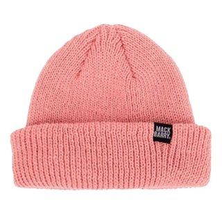 MACK BARRY COZY SHORT BEANIE - pink