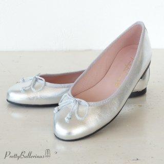 Pretty Ballerinas メタリック パンプス バレエシューズ Marilyn 37.650