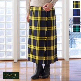O'NEIL OF DUBLIN (オニールオブダブリン) キルト ロング ラップ スカート CLASSIC MIDI KILT / CLASSIC LONG KILT102-83
