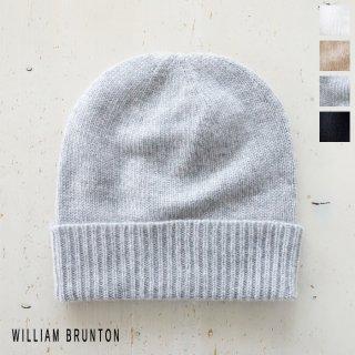WILLIAM BRUNTON (ウィリアムブラントン) カシミヤ ニット キャップ イギリス製